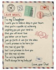 """Gift For Daughter - Fleece Blanket blye Small Fleece Blanket - 30"""" x 40"""" front"""