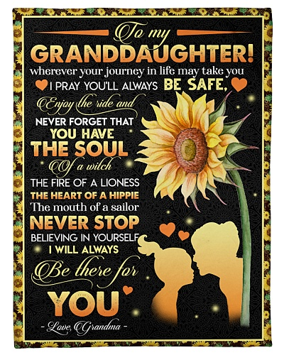 TO MY GRANDDAUGHTER - I WILL ALWAYS BE THERE