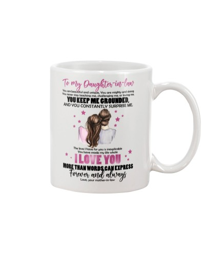 MUG - TO MY DAUGHTER-IN-LAW - I LOVE YOU FOREVER