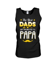 BEST DADS - PROMOTED - PAPA Unisex Tank thumbnail