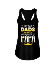BEST DADS - PROMOTED - PAPA Ladies Flowy Tank thumbnail