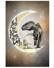 POSTER - T-REX - I LOVE YOU TO THE MOON AND BACK 16x24 Poster front