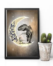 POSTER - T-REX - I LOVE YOU TO THE MOON AND BACK 16x24 Poster lifestyle-poster-8