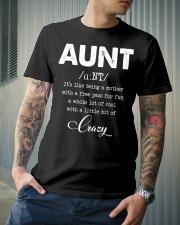 Aunt Classic T-Shirt lifestyle-mens-crewneck-front-6