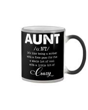 Aunt Color Changing Mug thumbnail