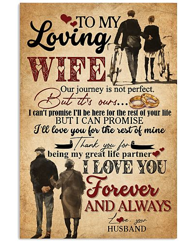 TO MY WIFE - HAND IN HAND - I LOVE YOU