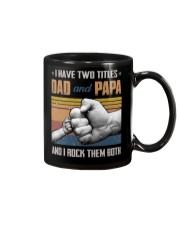 TO DAD AND GRANDPA - HANDS - I HAVE TWO TITLES Mug thumbnail