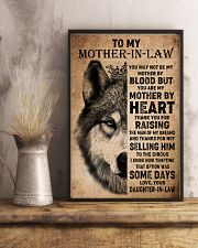 TO MY MOTHER-IN-LAW - WOLF - THANK YOU 16x24 Poster lifestyle-poster-3
