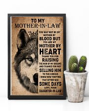 TO MY MOTHER-IN-LAW - WOLF - THANK YOU 16x24 Poster lifestyle-poster-8