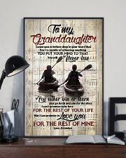 Grandpa to Granddaughter - Just Go Forth And Aim  16x24 Poster lifestyle-poster-2