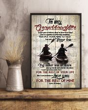 Grandpa to Granddaughter - Just Go Forth And Aim  16x24 Poster lifestyle-poster-3