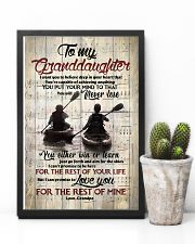 Grandpa to Granddaughter - Just Go Forth And Aim  16x24 Poster lifestyle-poster-8