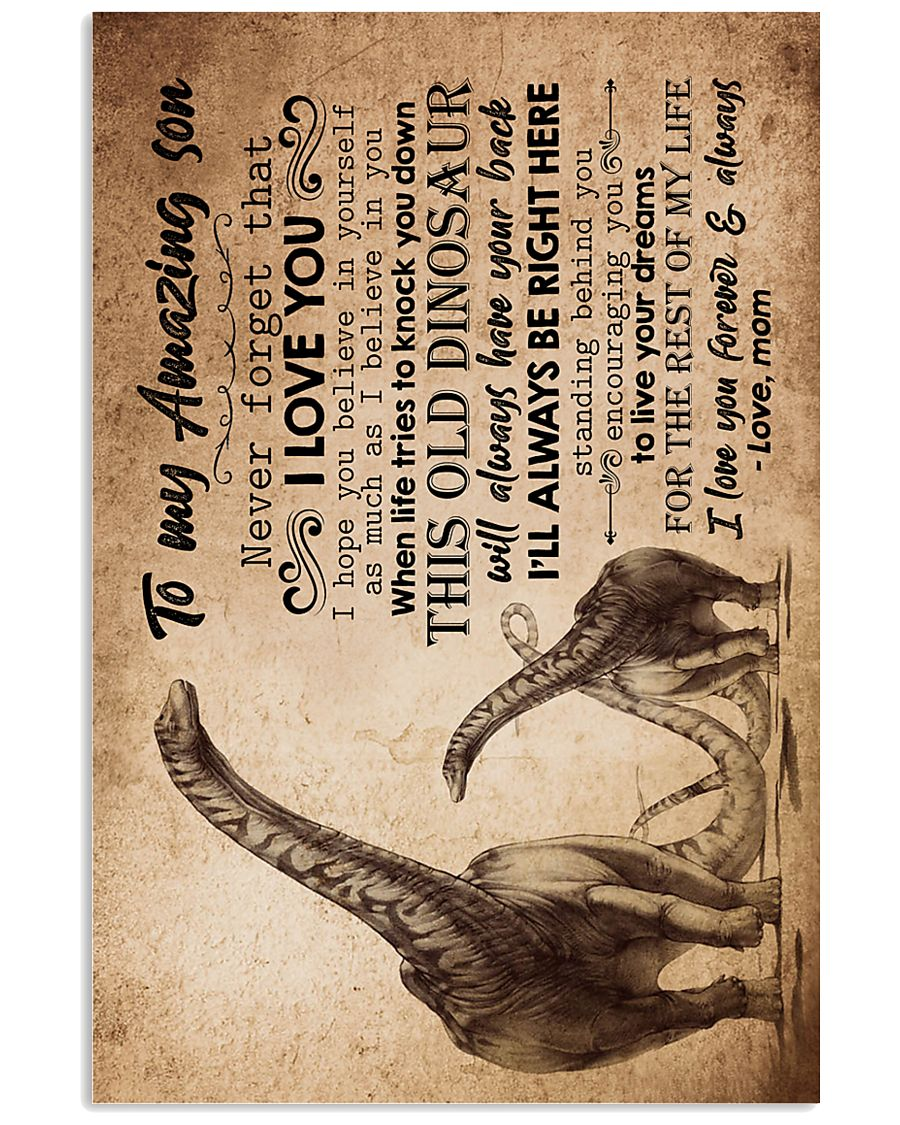 MOM TO SON - DINO - ALWAYS 16x24 Poster