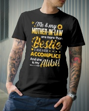 TO MY MOTHER-IN-LAW - SUNFLOWER Classic T-Shirt lifestyle-mens-crewneck-front-6