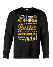 TO MY MOTHER-IN-LAW - SUNFLOWER Crewneck Sweatshirt thumbnail