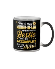TO MY MOTHER-IN-LAW - SUNFLOWER Color Changing Mug thumbnail