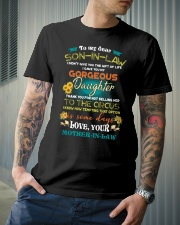 TO MY SON-IN-LAW - FUNNY T-SHIRT - CIRCUS Classic T-Shirt lifestyle-mens-crewneck-front-6