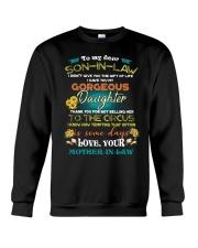 TO MY SON-IN-LAW - FUNNY T-SHIRT - CIRCUS Crewneck Sweatshirt thumbnail