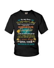 TO MY SON-IN-LAW - FUNNY T-SHIRT - CIRCUS Youth T-Shirt thumbnail