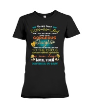 TO MY SON-IN-LAW - FUNNY T-SHIRT - CIRCUS Premium Fit Ladies Tee thumbnail