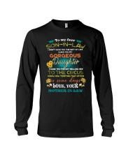 TO MY SON-IN-LAW - FUNNY T-SHIRT - CIRCUS Long Sleeve Tee thumbnail