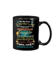 TO MY SON-IN-LAW - FUNNY T-SHIRT - CIRCUS Mug thumbnail