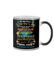 TO MY SON-IN-LAW - FUNNY T-SHIRT - CIRCUS Color Changing Mug thumbnail
