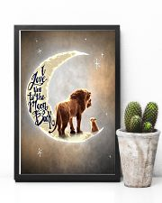 TO DAUGHTER - LION - I LOVE YOU TO THE MOON 16x24 Poster lifestyle-poster-8