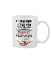 TO MY BOYFRIEND Mug thumbnail