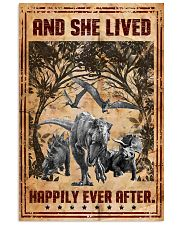 Dinosaurs - And She Lived Happily - Poster 16x24 Poster front