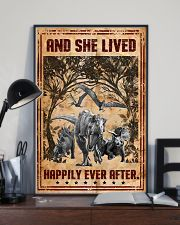 Dinosaurs - And She Lived Happily - Poster 16x24 Poster lifestyle-poster-2