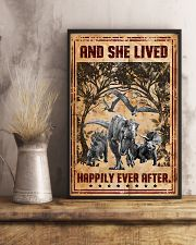 Dinosaurs - And She Lived Happily - Poster 16x24 Poster lifestyle-poster-3