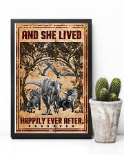 Dinosaurs - And She Lived Happily - Poster 16x24 Poster lifestyle-poster-8