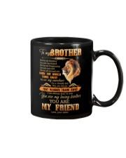 To My Brother - Lion - Mug Mug front