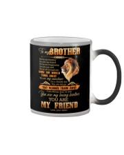 To My Brother - Lion - Mug Color Changing Mug tile
