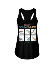 TO MY SON-IN-LAW - DINOSAUR - I LOVE YOU Ladies Flowy Tank thumbnail