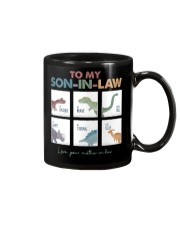 TO MY SON-IN-LAW - DINOSAUR - I LOVE YOU Mug thumbnail