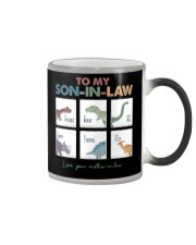TO MY SON-IN-LAW - DINOSAUR - I LOVE YOU Color Changing Mug thumbnail