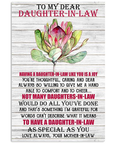TO MY DAUGHTER-IN-LAW - PROTEA - I LOVE YOU