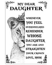 MOM TO DAUGHTER 16x24 Poster front
