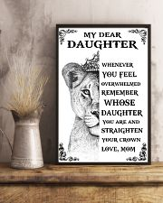 MOM TO DAUGHTER 16x24 Poster lifestyle-poster-3