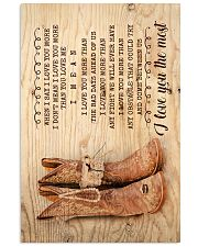 Farmer - Husband To Wife - When I Say I Love You 16x24 Poster front