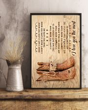 Farmer - Husband To Wife - When I Say I Love You 16x24 Poster lifestyle-poster-3