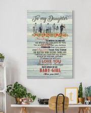 Daughter - Never Forget To Believe In Yourself 20x30 Gallery Wrapped Canvas Prints aos-canvas-pgw-20x30-lifestyle-front-03
