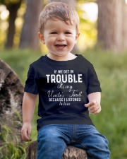 If we get in Trouble It's my Uncle's Fault  Youth T-Shirt lifestyle-youth-tshirt-front-4