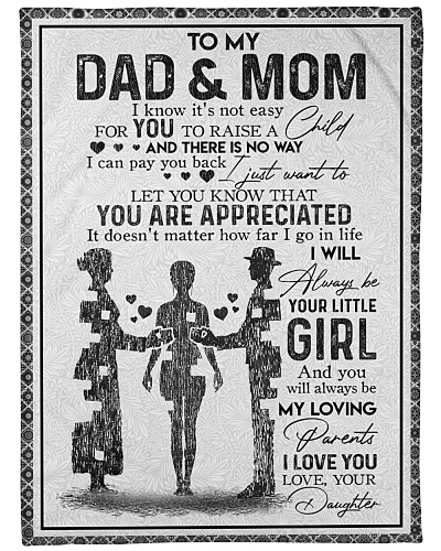 DAUGHTER TO DAD AND MOM
