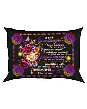 To Granddaughter - Best Wishes And Hug Rectangular Pillowcase front