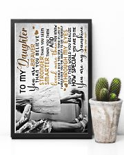 MOM TO DAUGHTER 16x24 Poster lifestyle-poster-8
