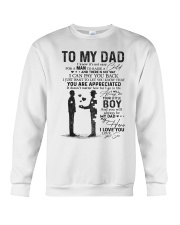 TO MY DAD Crewneck Sweatshirt thumbnail