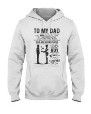TO MY DAD Hooded Sweatshirt thumbnail